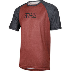 IXS Progressive 8.1 Bike Jersey Shortsleeve Men grey/red